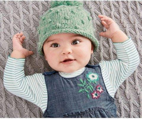 Вязаные детские шапки спицами для новорожденных. схемы и описание, инструкции вязания