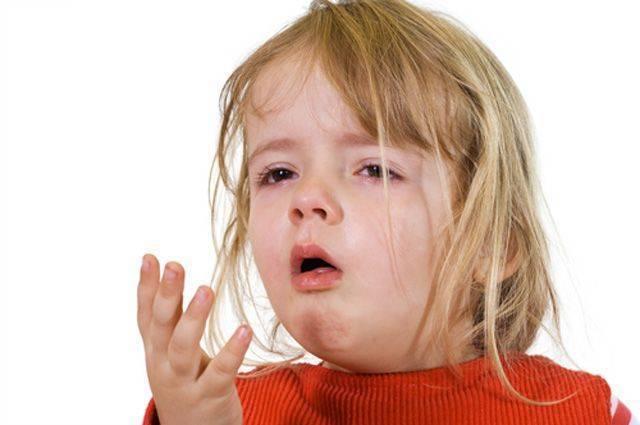 Сухой кашель у грудничка