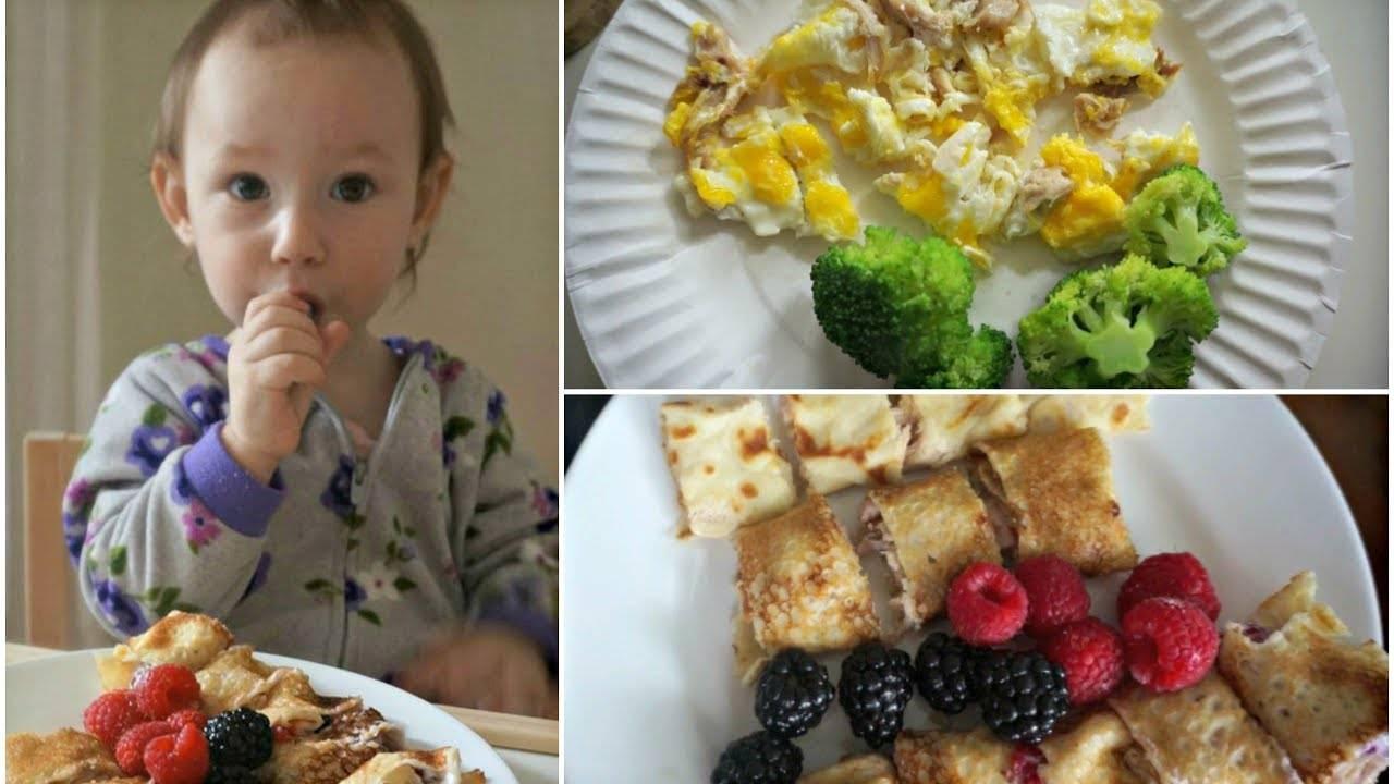 Расширяем рацион. питание детей от 1 года до 1,5 лет