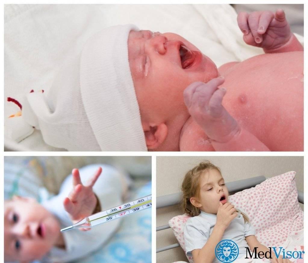 Кашель у новорожденного без температуры чем лечить комаровский