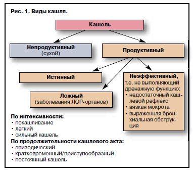 Основные виды кашля у взрослых и детей, методы лечения