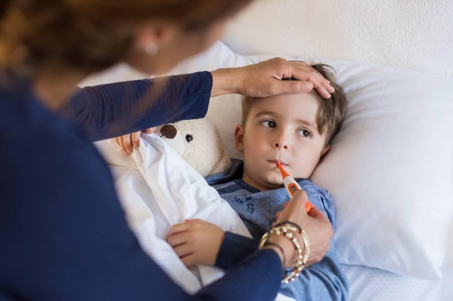 Какую температуру надо сбивать у ребенка?