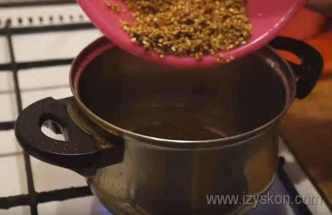 Как готовить гречневую кашу на молоке и воде для ребенка в домашних условиях для первого прикорма
