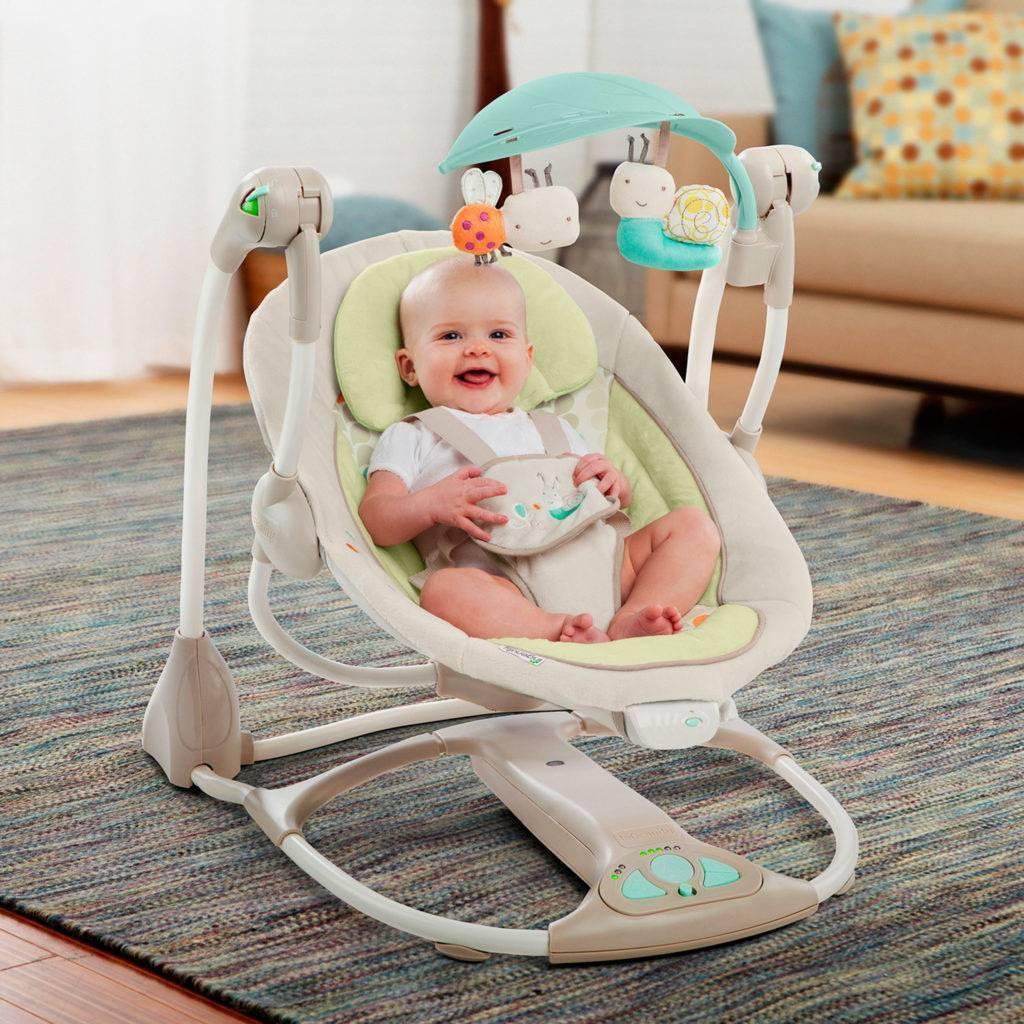 Люлька-качалка для новорожденных — электролюлька для младенца