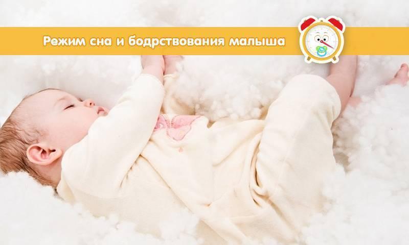 Режим дня ребенка в 2 месяца: сон и кормления двухмесячного малыша