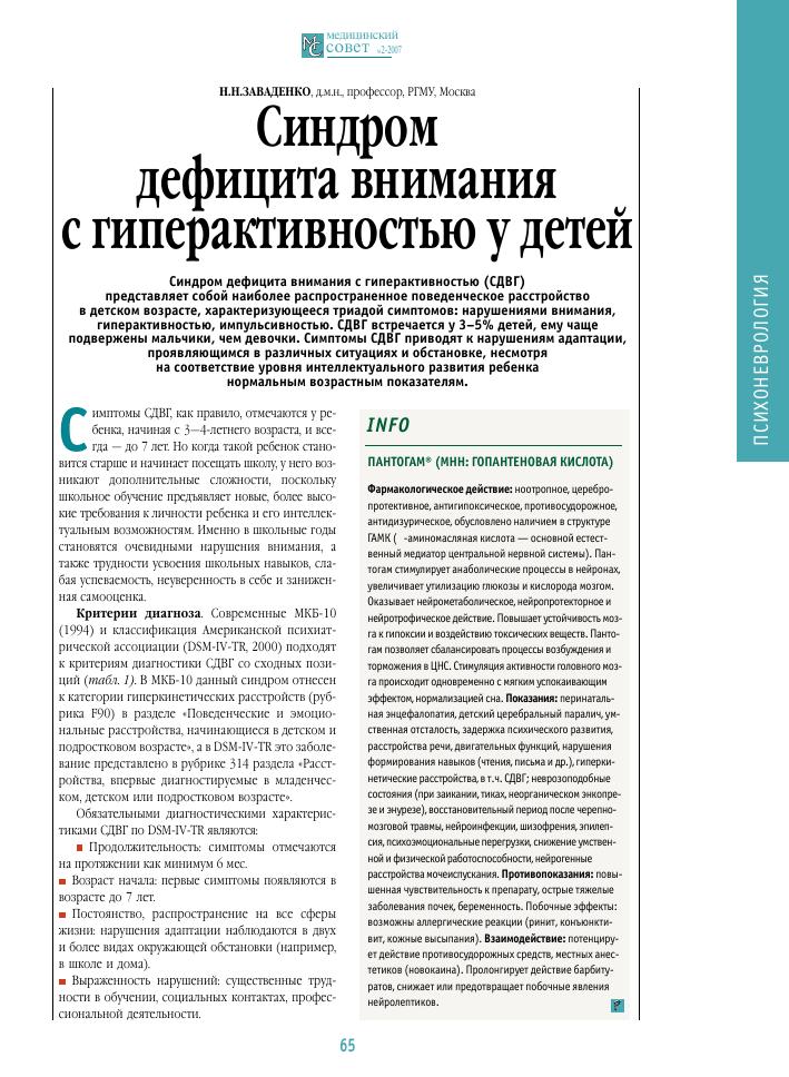 Детская гиперактивность: диагностика, причины, коррекция / mama66.ru