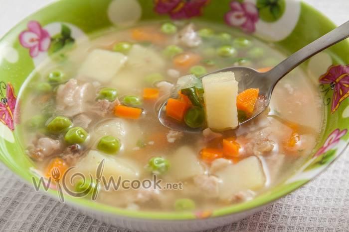 Роль супов в питании кормящей мамы