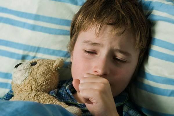 Как лечить сухой кашель у ребенка?