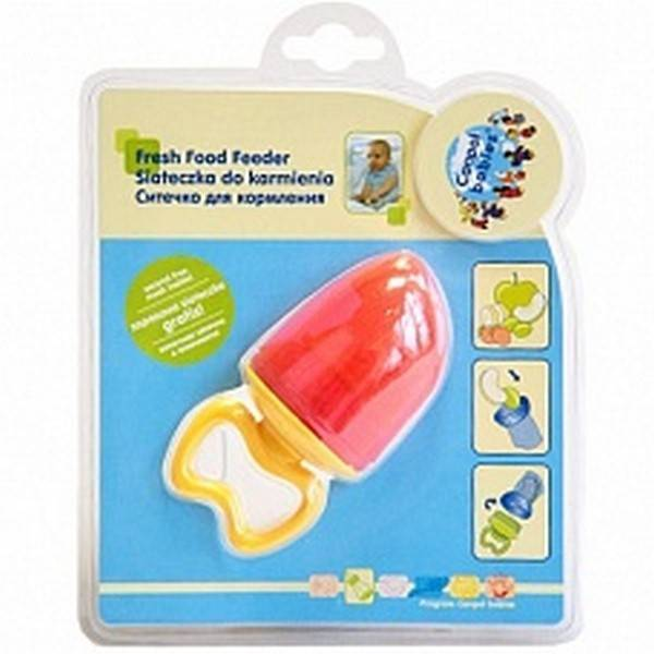 Сеточка-пустышка для прикорма ребенка